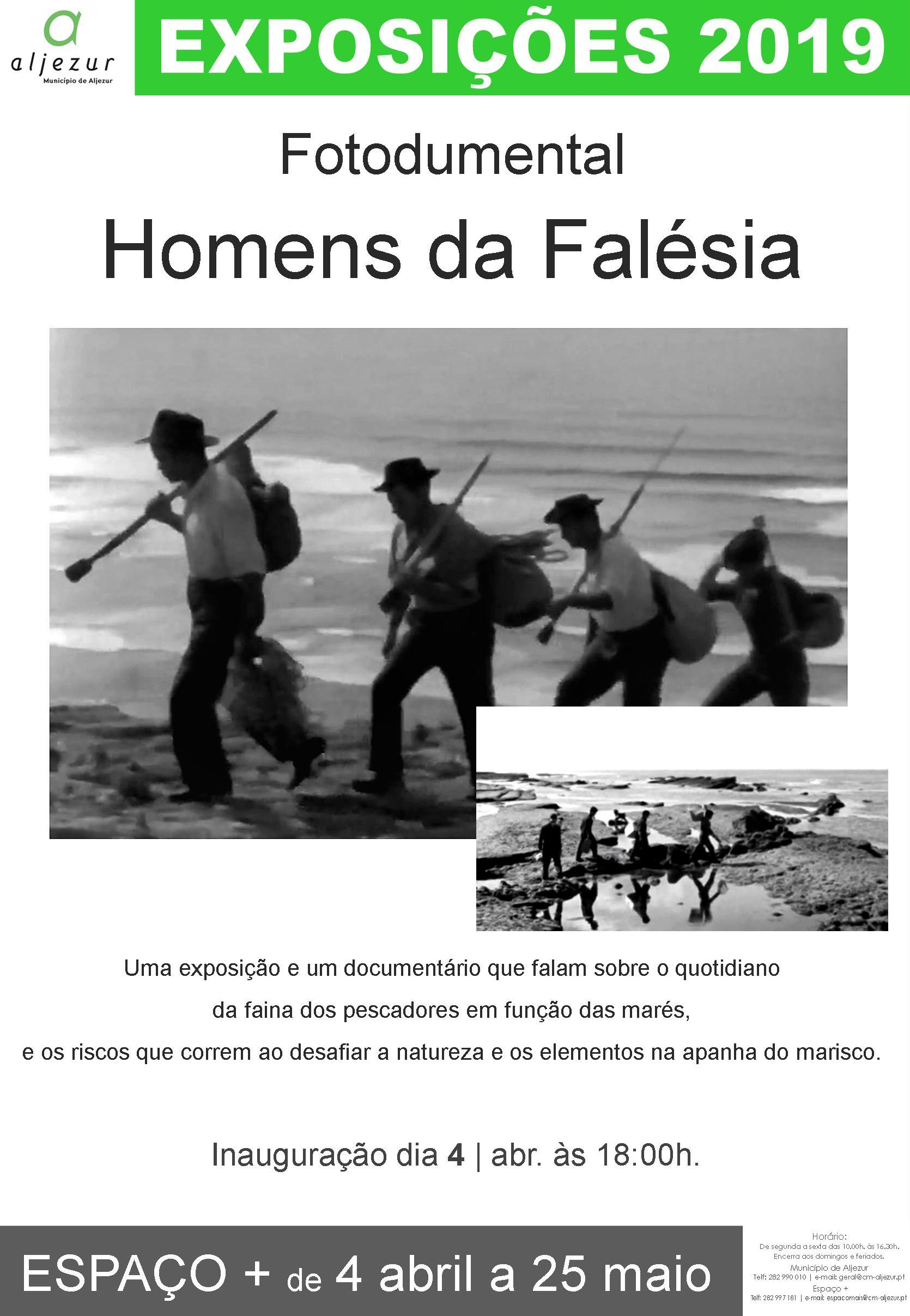 """Fotodocumental """"Homens da Falésia"""""""