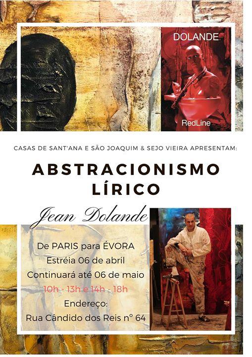 Exposição - Abstracionismo Lírico