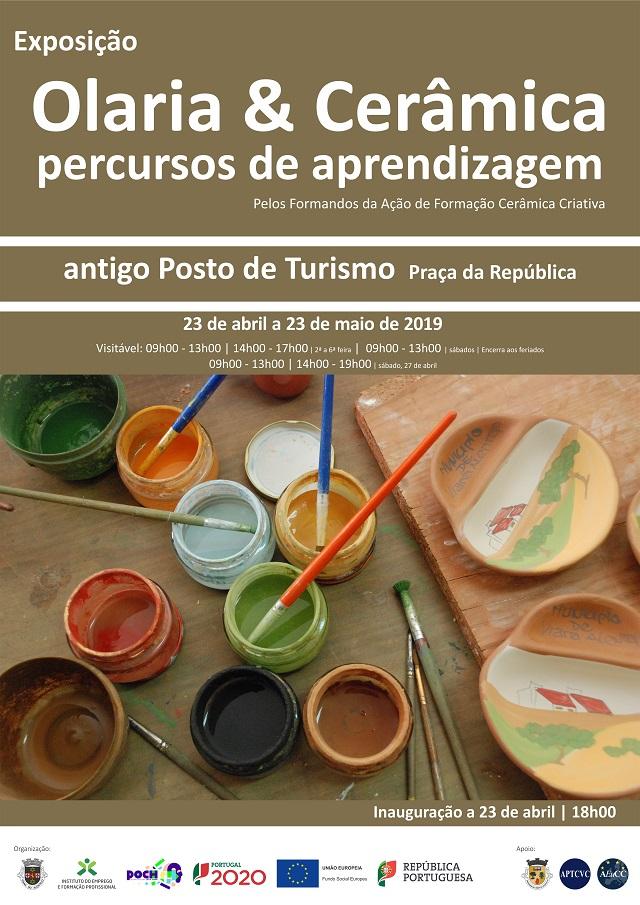 """Exposição """"Olaria & Cerâmica: Percursos de Aprendizagem"""""""