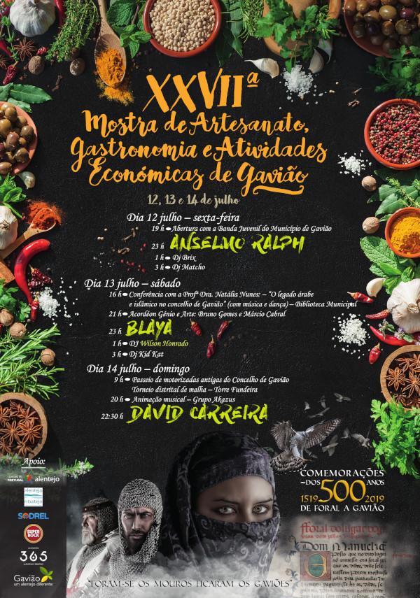Festas Gavião - Crafts, Gastronomy and Econmy Fair