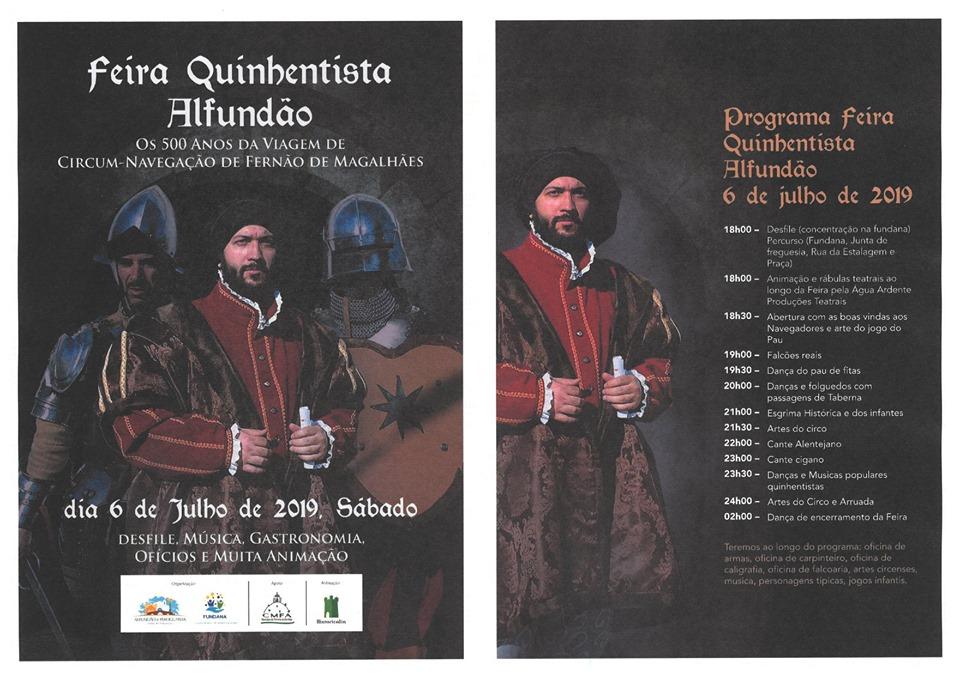 15th Centrury Fair - Feira Quinhentista Alfundão