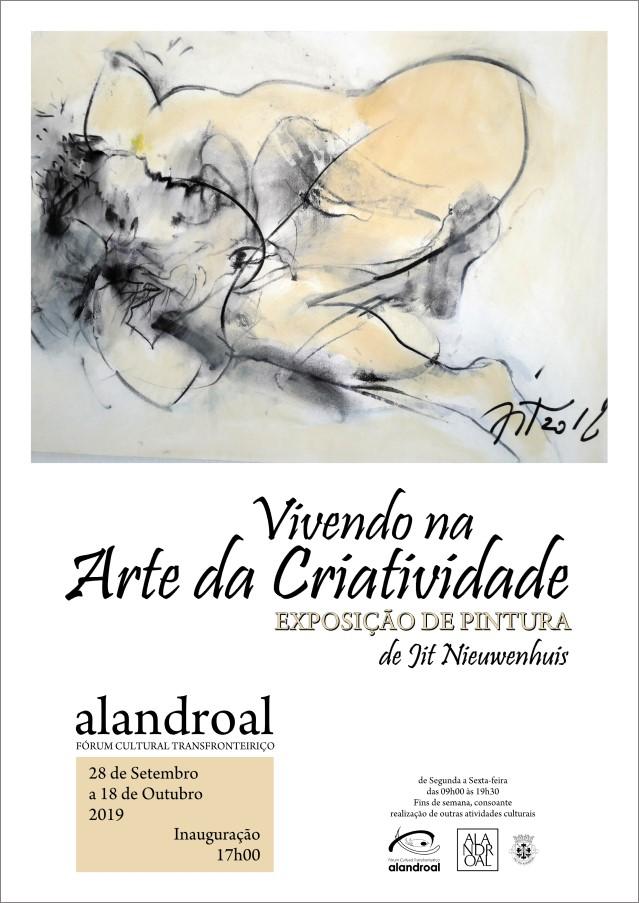 Painting Exhibition- Jit Nieuwenhuis -- Alandroal
