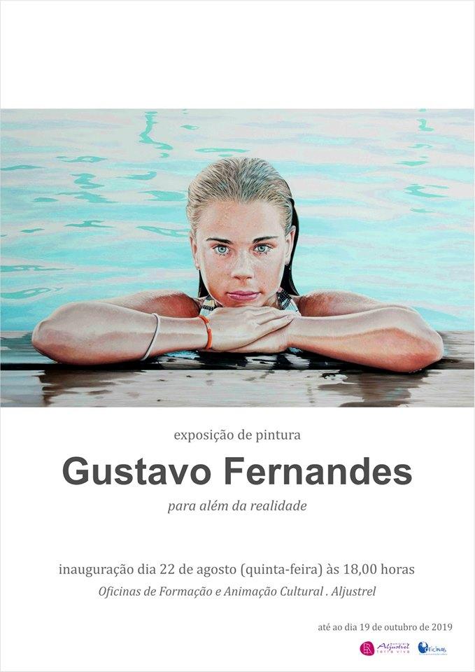 "Painting Exhibition: ""Para Além da Realidade"" by Gustavo Fernandes"