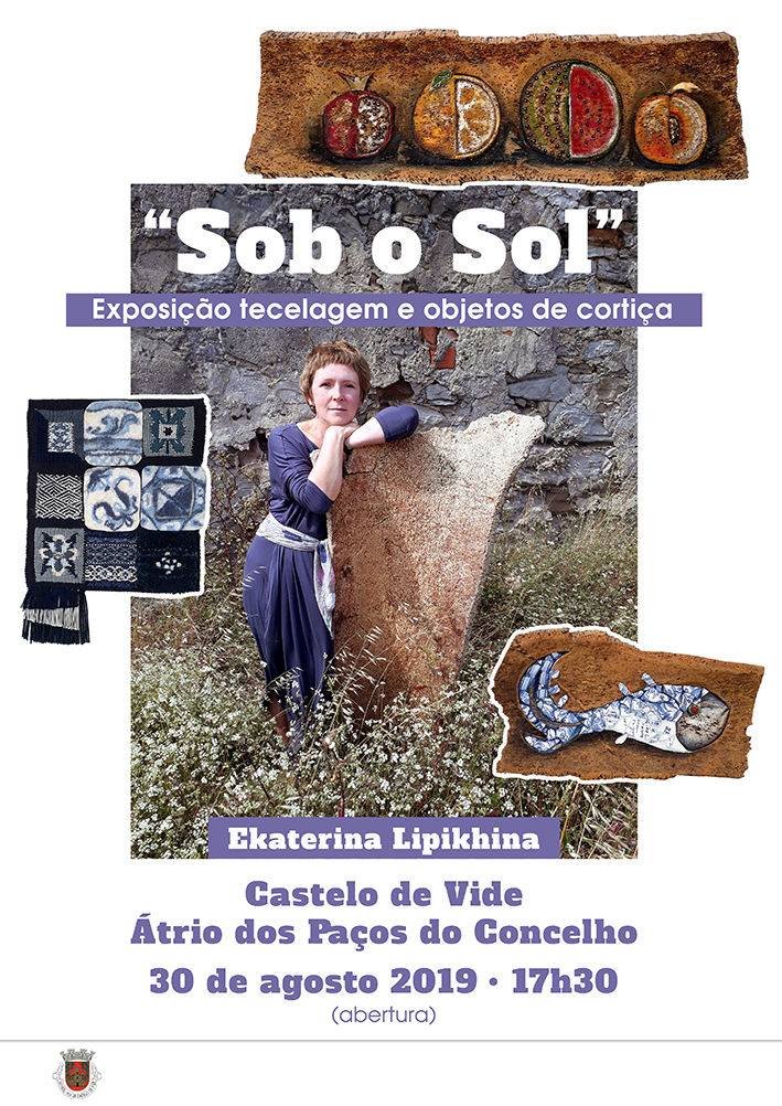 """Exhibition of Weaving and Cork Objects - """"Sob o Sol"""""""