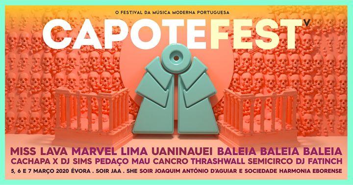 Capote Fest 2020   Évora