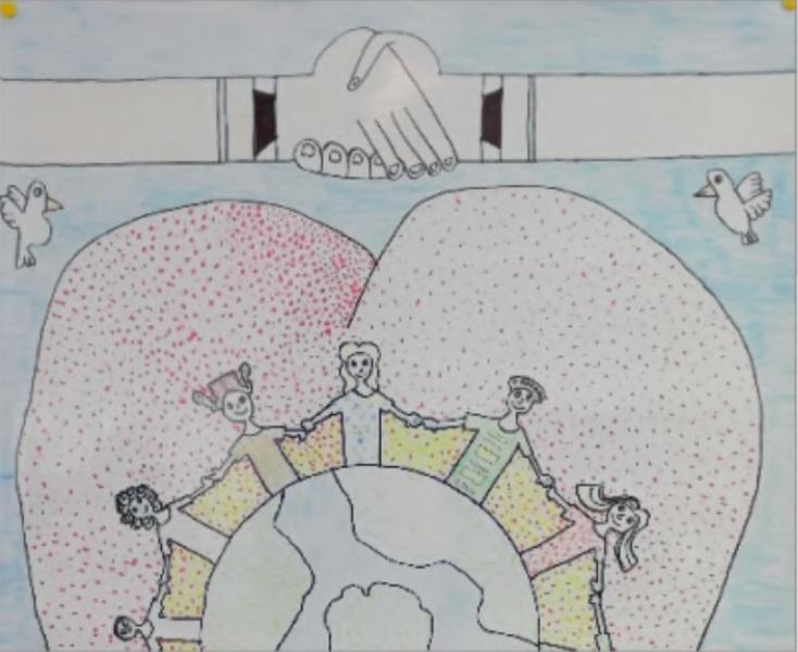 Painting Exhibition 'Cartaz Da Paz' - Peace Poster