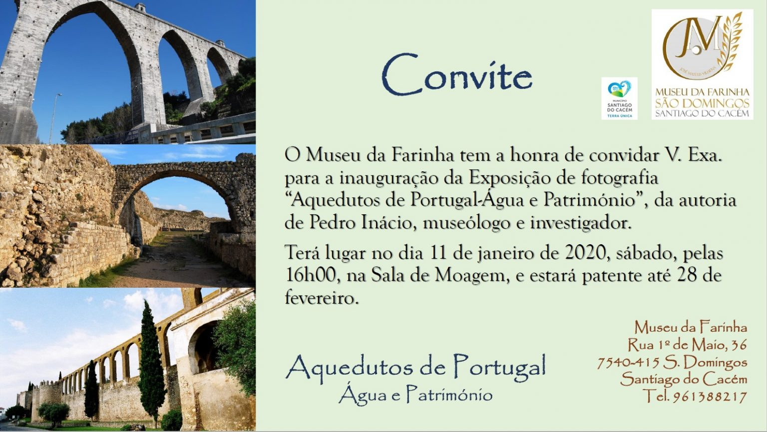 "Photo Exhibition ""Aqueducts of Portugal - Water and Heritage"""