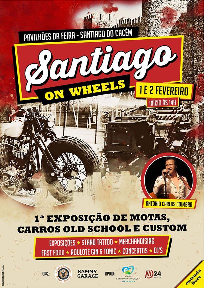 'Santiago on Wheels' - Old School Cars & Motorcycles