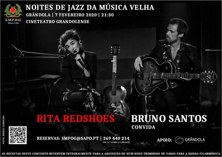 Jazz Night: Bruno Santos invites Rita Redshoes