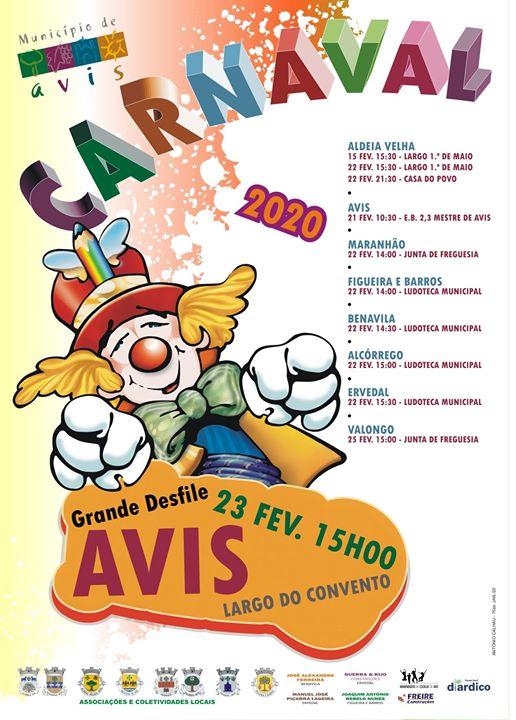 Carnaval Avis 2020