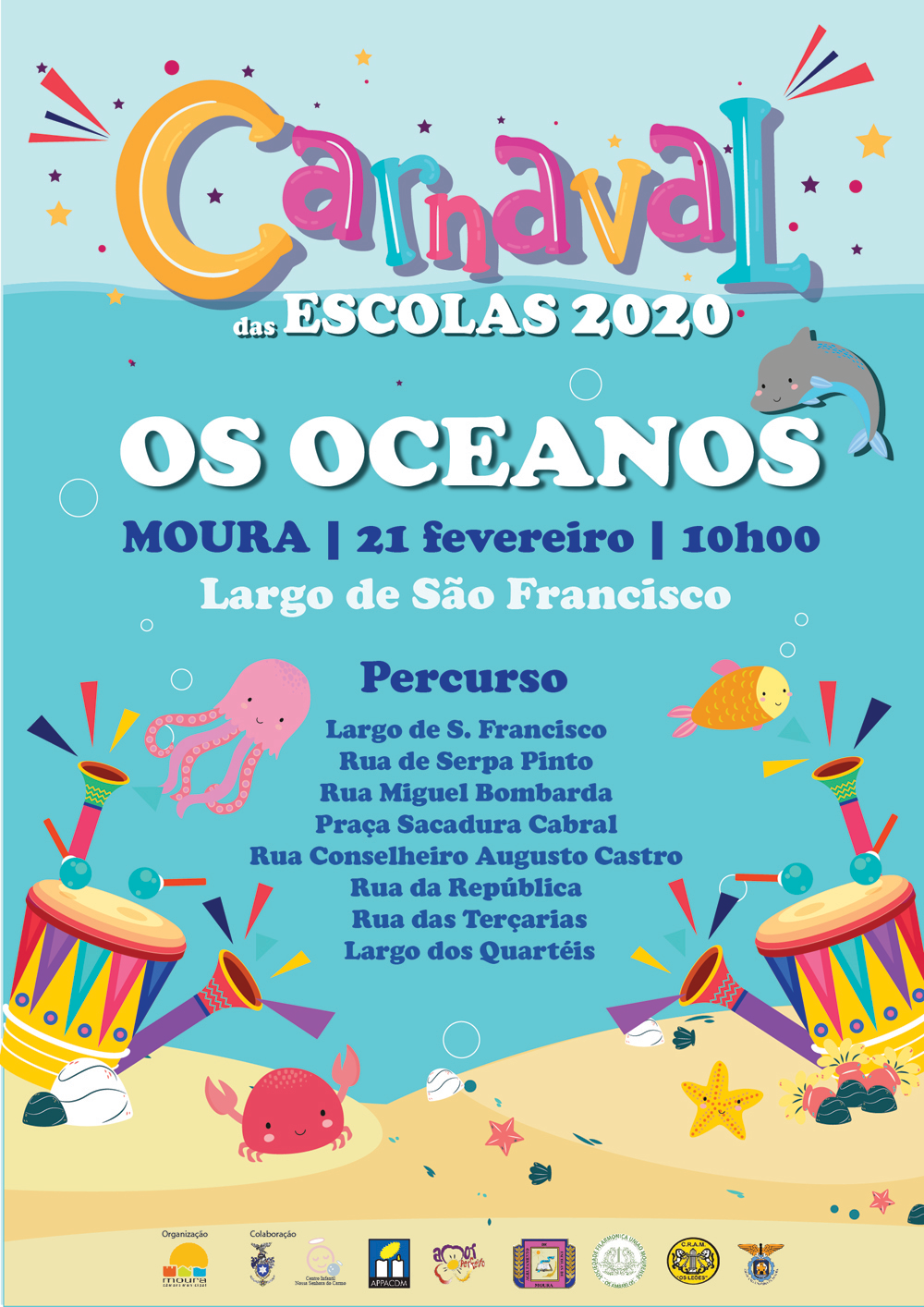 Carnaval 2020 in Moura