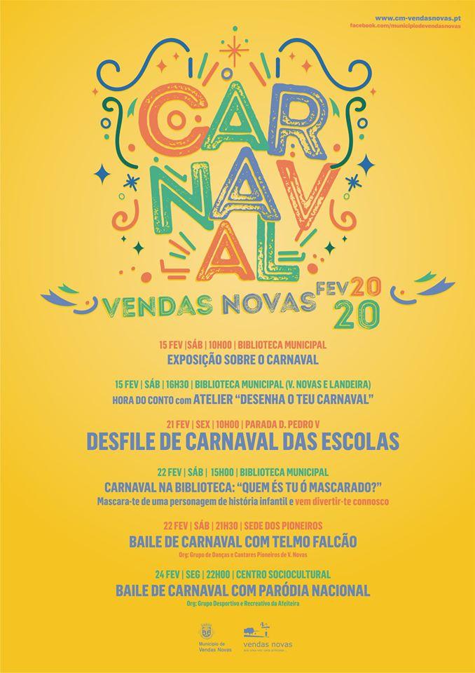 Carnaval in Vendas Novas
