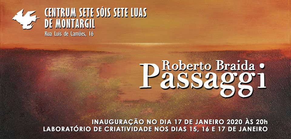 """Exhibition: """"Passaggi"""" by Roberto Braida"""