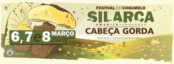 SILARCA Festival do Cogumelo 2020 - Mushroom Festival in Cabeça Gorda