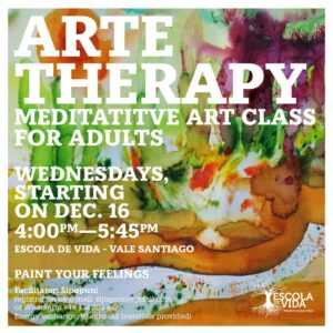 ArteTherapy meditative art class for adults